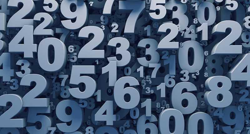 i numeri in Inglese