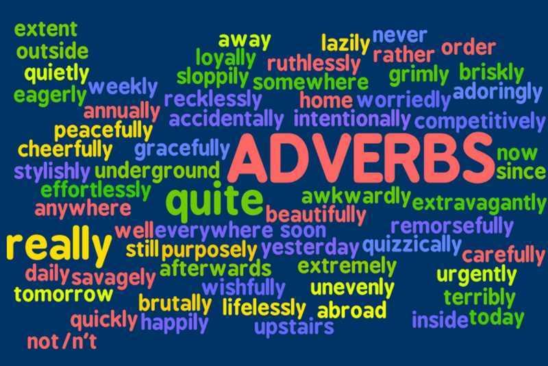 Avverbi in Inglese