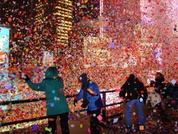 Confetti wish New York