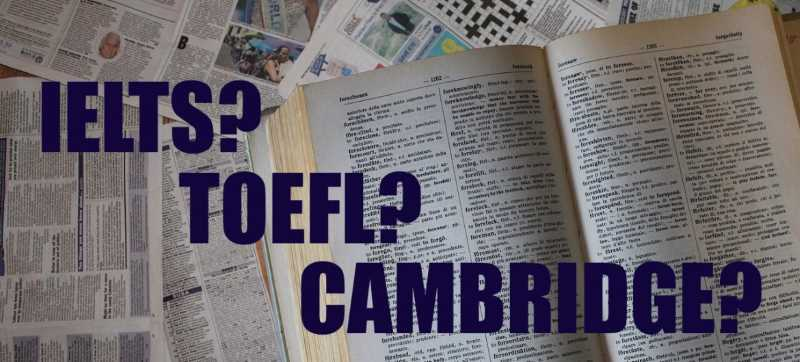 TOEFL, IELTS o Cambridge?