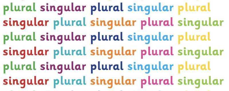 Il plurale in Inglese