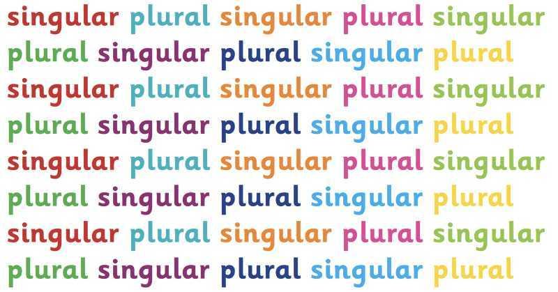 plurale in Inglese