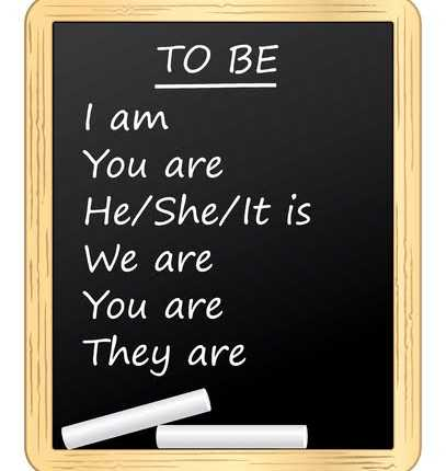 Coniugazione verbo essere inglese presente