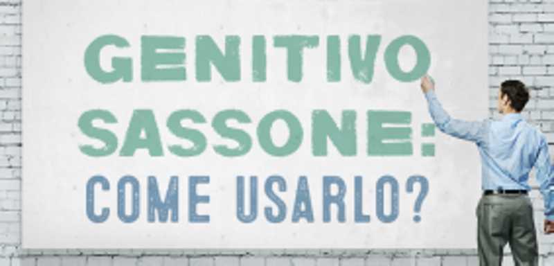 Genitivo sassone in Inglese