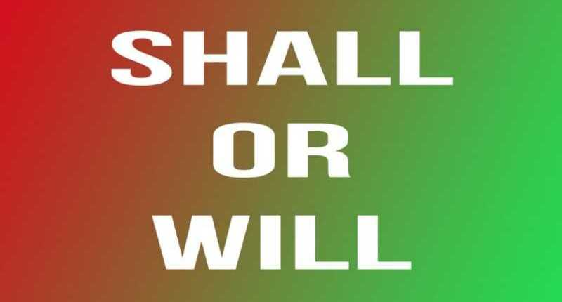 Tipi di futuro in Inglese: shall or will?