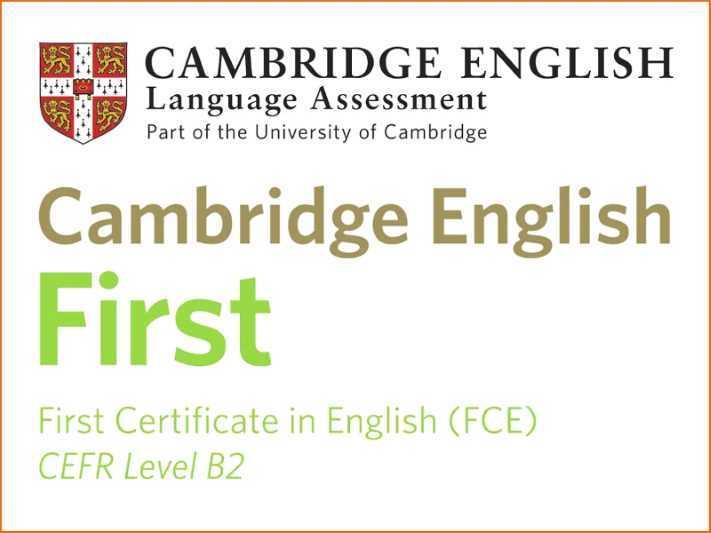 FCE: First Certificate in English