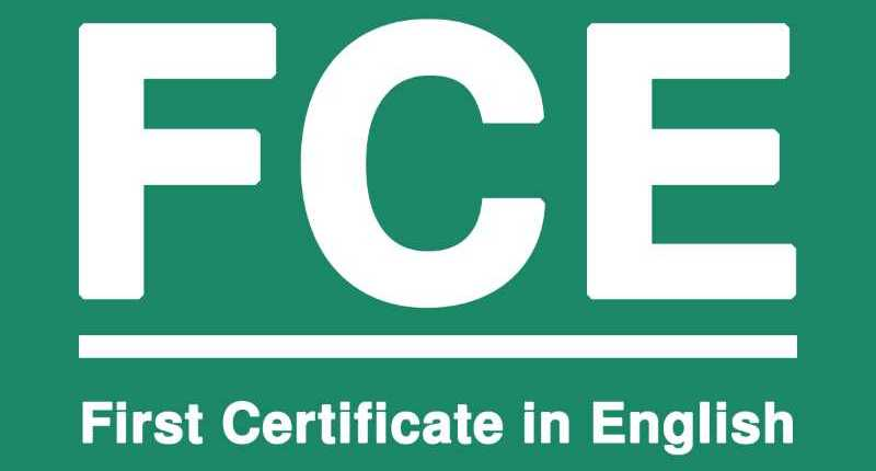 FCE Cambridge - Esame First Certificate