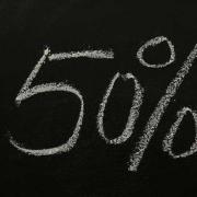 Sconto 50%