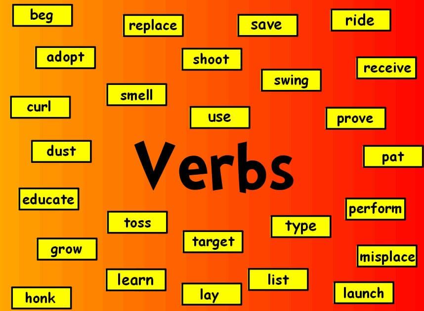 verbi in inglese